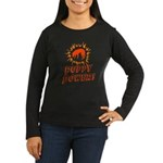 Blackmouth Cur Women's Long Sleeve Dark T-Shirt