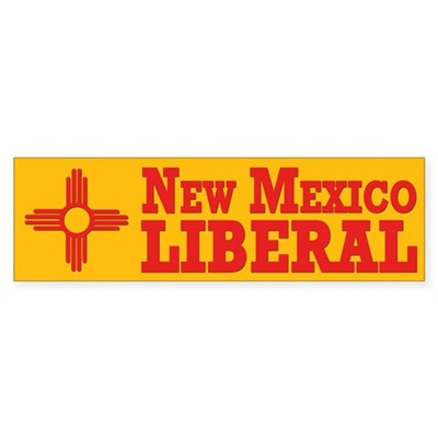 New Mexico Liberal (bumper sticker)