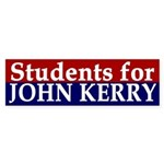 Students for John Kerry (bumper sticker)