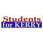 Students for Kerry (bumper sticker)