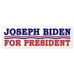 Joseph Biden for President Sticker (Bumper)