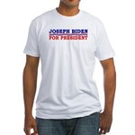 Joseph Biden for President Fitted T-Shirt
