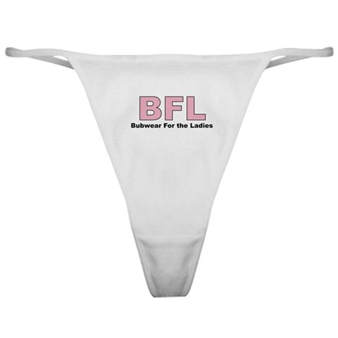 - BFL Shield Classic Thong by CafePress