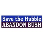 Save the Hubble: Abandon Bush (sticker)