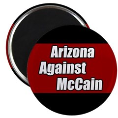 Arizona Against McCain Magnet