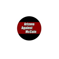 Arizona Against McCain Campaign Pin