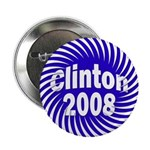 "Clinton 2008 Spiral 2.25"" Button (10 pack)"