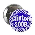 Mesh Clinton 2008 Button
