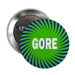 Green Sun Gore Button