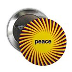 Swirling Star Peace Button
