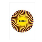 Swirling Star Peace (8 Postcards)