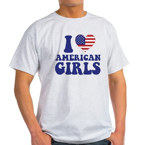 Love American Girls Birthday Light T-Shirt by CafePress
