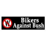 Bikers Against Bush (bumper sticker)
