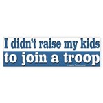 My kids in a troop bumper sticker