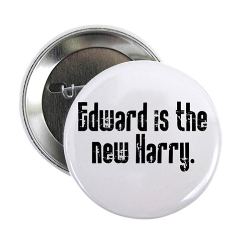'Edward is the new Harry' Button 10 pack Funny 2.25 Button 10 pack by CafePress