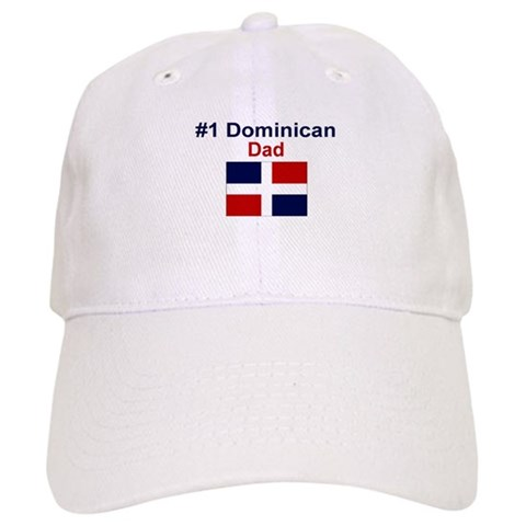 1 Dominican Dad  Love Cap by CafePress