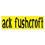 ack fushcroft (bumper sticker)
