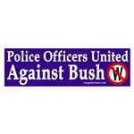 Police Officers United Against Bush