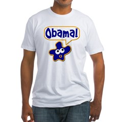 Obama! Fitted T-Shirt