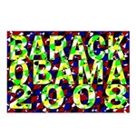 Barack Obama in Color Postcards (Package of 8)