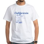 California Surf White T-Shirt