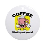 Coffee Quota Ornament