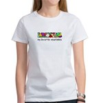 My Favorite Vegetables Women's T-Shirt