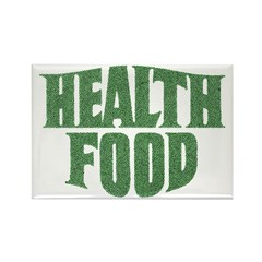 Health Food Rectangle Magnet