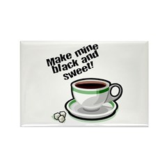 Black & Sweet Coffee Magnet