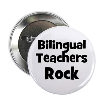 Bilingual Teachers Rock Button