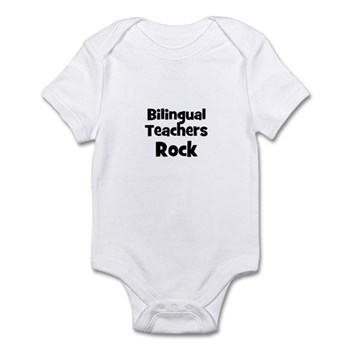 Bilingual Teachers Rock Infant Creeper