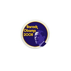 Barack Obama 2008 1 Buttons (10 pack)