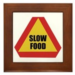 Slow Food Plaque