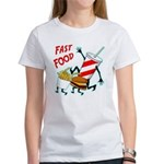 Running Fast Food Women's T-Shirt