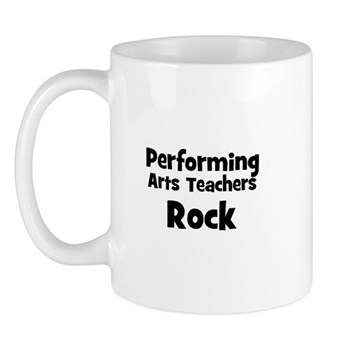 Performing Arts Teachers Rock Mug