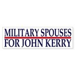 Military Spouses for John Kerry (sticker)