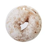 Powdered Sugar Donut Ornament