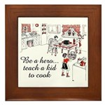 Teach A Kid To Cook Plaque