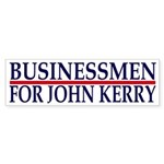 Businessmen for John Kerry (sticker)