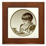 Child Saying Grace Plaque