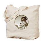 Child Saying Grace Tote Bag
