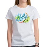 Bicycle Cycling Living Green T-Shirt