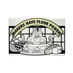 Flour Power Rectangle Magnet