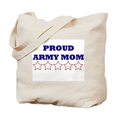 Army Mom Stars Tote Bag