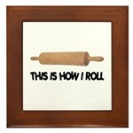 How I Roll Baking Plaque
