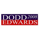 Dodd-Edwards 2008 bumper sticker