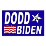 Dodd-Biden '08 bumper sticker