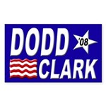 Dodd-Clark '08 bumper sticker