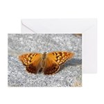Tawny Emperor Butterfly Greeting Cards