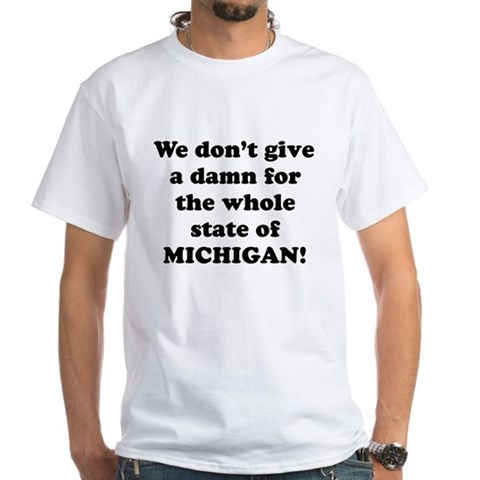 Product Image of Whole State of Michigan T-Shirt